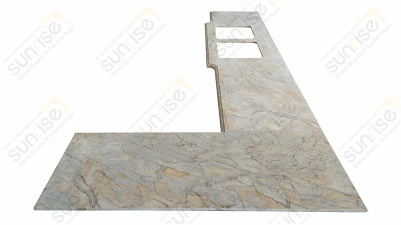 India Gold Project Countertops