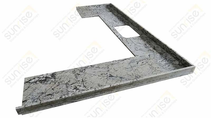 Riprap White Granite Countertop