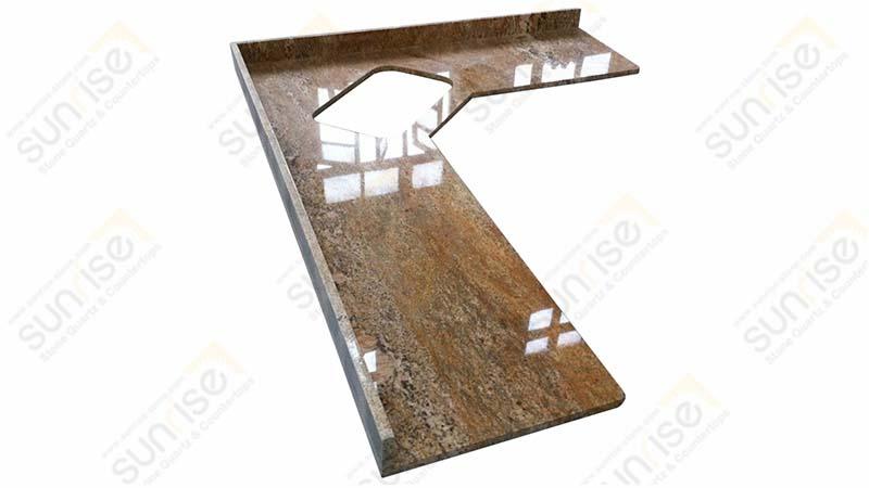 Imperial Gold Precut Kitchen Countertop