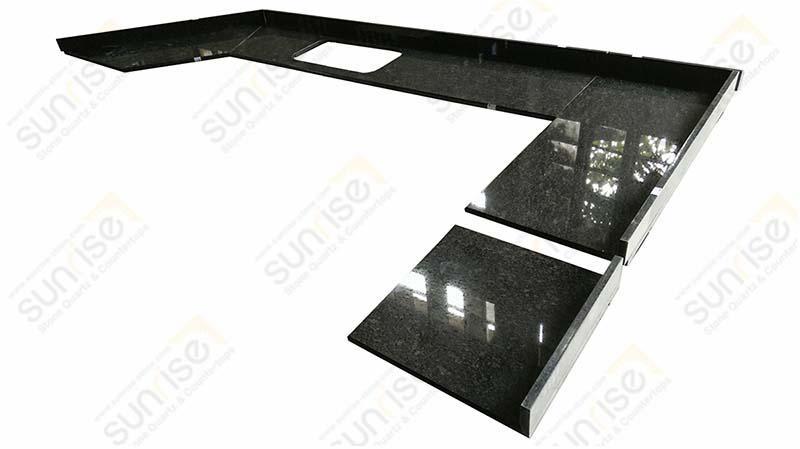 Steel Gray Kitchen Countertops