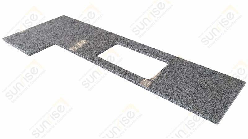 Hazal White Prefabricated Countertop