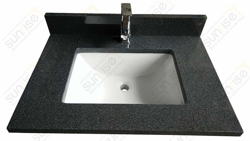 Impala Black Granite Vanity Top