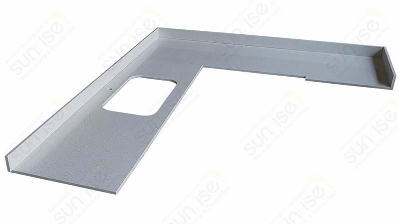 Sparkle White Cut To Size Countertops