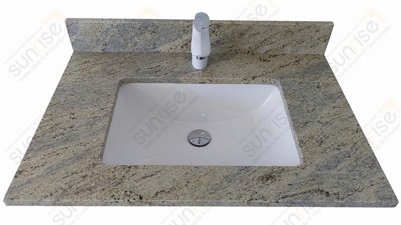 Kashmire White Granite Vanity Tops
