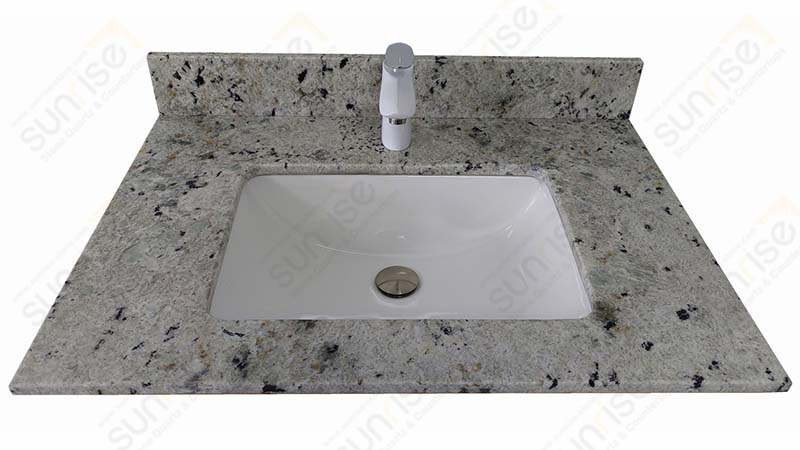 Colonial White Granite Vanity Tops