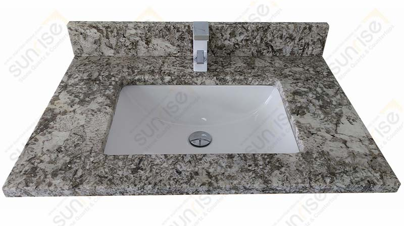 Bianco Antico Granite Vanity Tops