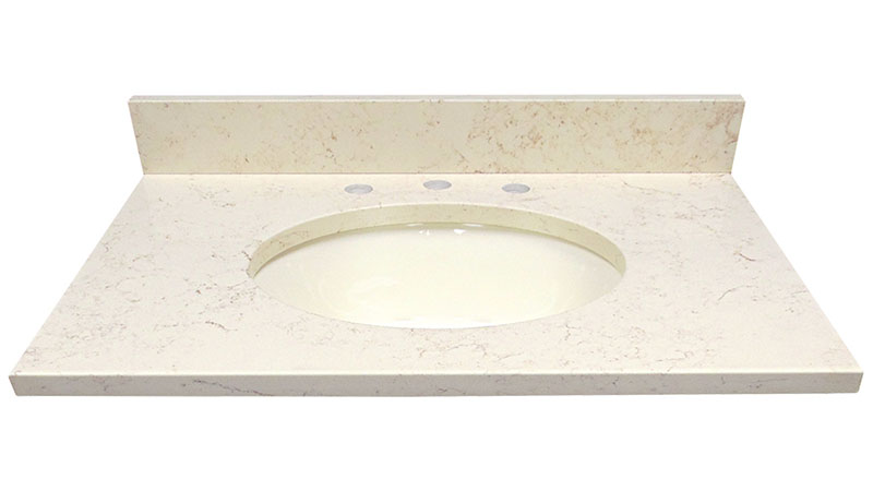 Egyptian Yellow Marble Vanity Top