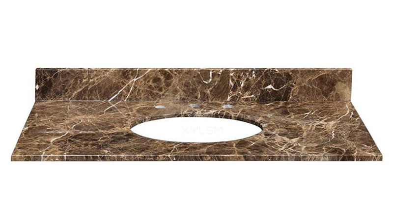 "Emperador Dark 37"" Vanity Top"