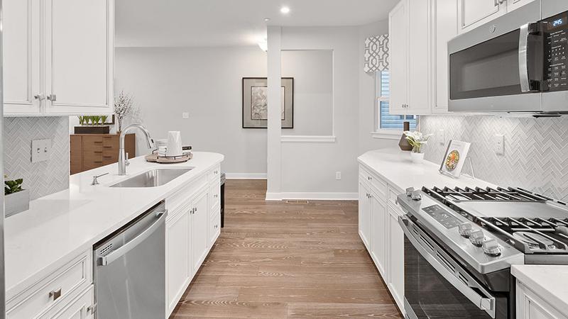 Blanco White ECO Glass Kitchen