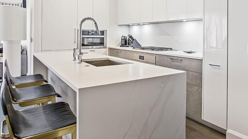 Unique Calacatta White Kitchen