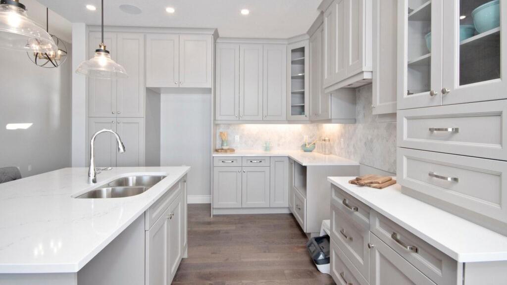 Absolute White Kitchen