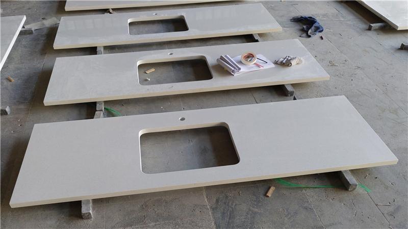 Maple White ECO Glass Countertop