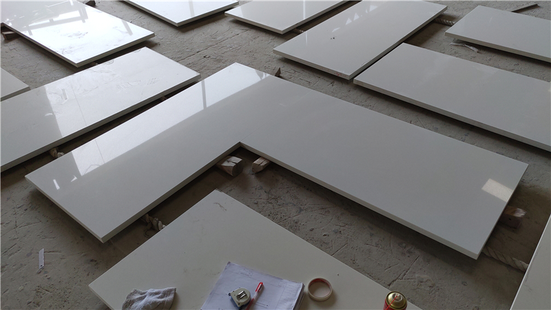 Jazz White ECO Glass Countertop