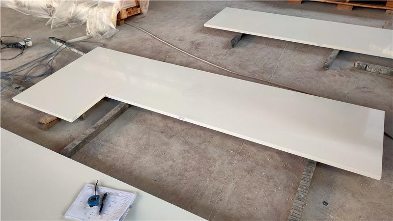 Super White ECO Glass Countertop